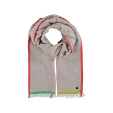 Fraas Colour Boarder Scarf
