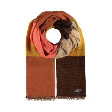 Fraas Gold Boucle Scarf