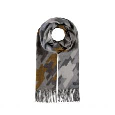 Fraas Grey Camouflage Scarf