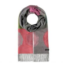 Fraas Multi Spot Berry Scarf