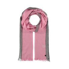 Fraas Pink Stripe Boarder Scarf