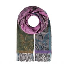 Fraas Purple Paisely Wrap