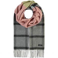 Fraas Reversible Colour Block Cashmink Grey Scarf