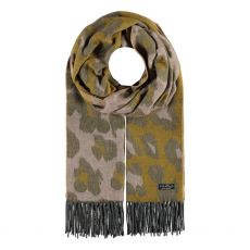 Fraas Rose Camouflage Print Scarf