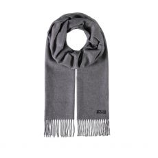 Fraas Chalk Grey Cashmink Scarf