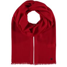Fraas Wool Red Scarf