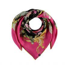 Frass Silk Pink Printed Scarf