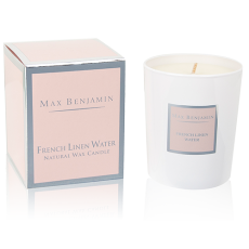 Max Benjamin French Linen Water Candle