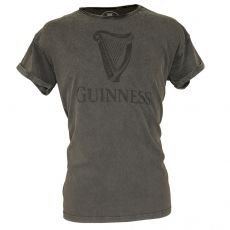 Guinness Acid Wash Harp T-Shirt