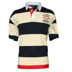 Guinness Stripe 1759 Crest Polo Shirt