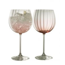 Galway Crystal Erne Blush Gin & Tonic Pair
