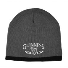 Guinness Grey/Black Knitted Hat