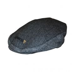 Guinness Grey Tweed Flat Cap