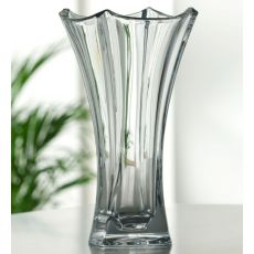 Galway Crystal 14'' Dune clear vase