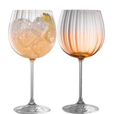 Galway Crystal Erne Amber Gin & Tonic Pair
