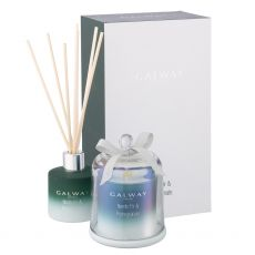 Galway Crystal Nordic Fir & Pomegranate Gift Set