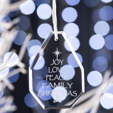 Galway Living Joy Hanging Ornament