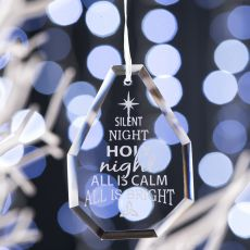 Galway Living Silent Night Hanging Ornament