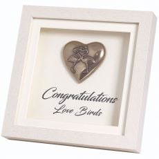 Genesis Framed Occasions Love Birds