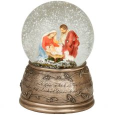 Genesis Holy Family Snow Globe