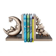 Genesis Moon and Teddy Set of Bookends