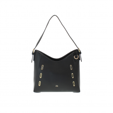 Gionni Curved Hobo Willow Eyelet Bag