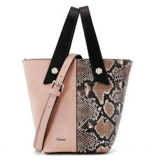 Gionni Fig Double Handle Grab Bag Rose