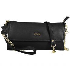 Gionni Liberty Shaula Eastwest Small Flapover Bag Black