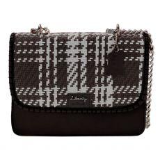 Gionni Zahra Weaved Flapover Crossbody Bag Black