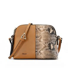 Gionni Fig Tan Crossbody
