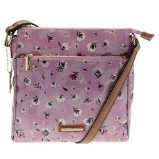 Gionni Liberty Thandi Pink Front Zip Crossbody
