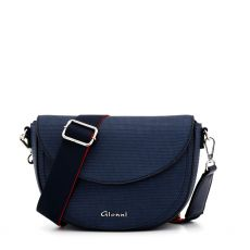 Gionni Lotus Navy Saddle Bag