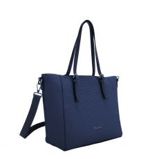Gionni Lotus Navy Shopper Bag