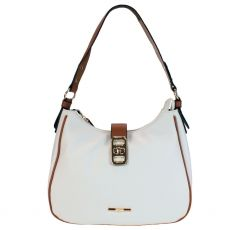 Gionni Palermo White Hobo Bag