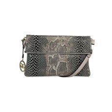 Gionni Snakeskin Luna Crossbody Bag