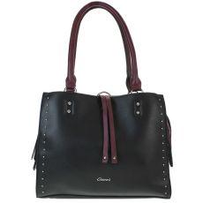 Gionni Studded Black Grab Bag