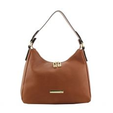 Gionni Turin Tan Hobo Bag