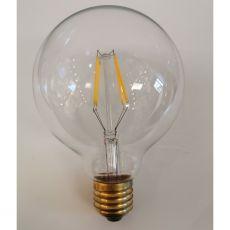 Bulb LED E27 G95mm Clear 4W