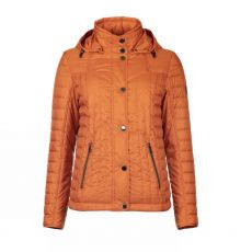Godske Orange Padded Hooded Jacket