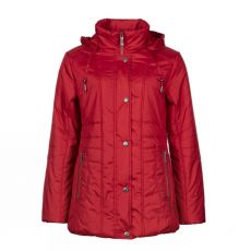 Godske Red Detachable Hood Jacket