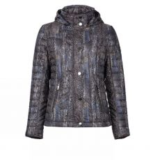 Godske Snake Print Hooded Jacket