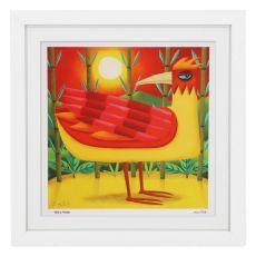 Graham Knuttel Framed Print - Birds Of Paradise (63Cm X 63Cm)