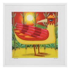 Graham Knuttel Framed Print - Birds Of Paradise (33Cm X 33Cm)
