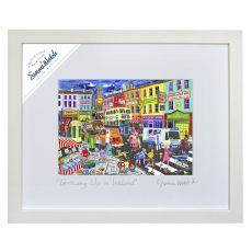 Simone Walsh Growing Up in Ireland Medium Frame 11 x 14