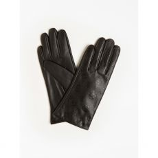 Guess 4G Peony Logo Black Gloves