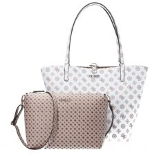 Guess Alby White Toggle Tote