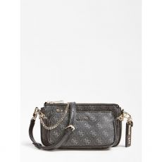 Guess Arie 4G Logo Grey Crossbody