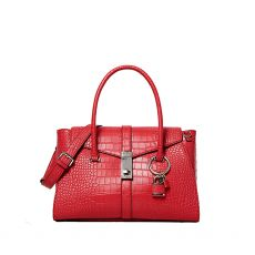 Guess Asher Flap Red Handbag