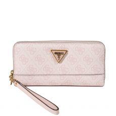 Guess Cordelia 4g Logo Pink Maxi Wallet
