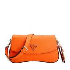 Guess Cordelia Orange Shoulder Bag